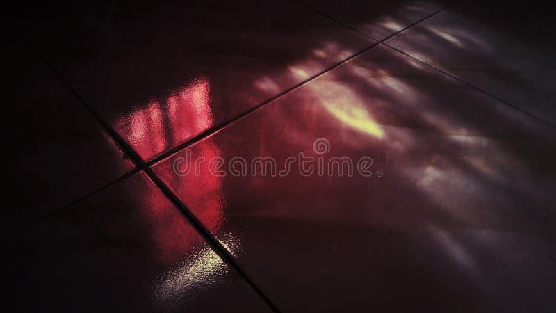 Zmrok - czerwonego koloru grunge abstrakta tło ilustracja wektor