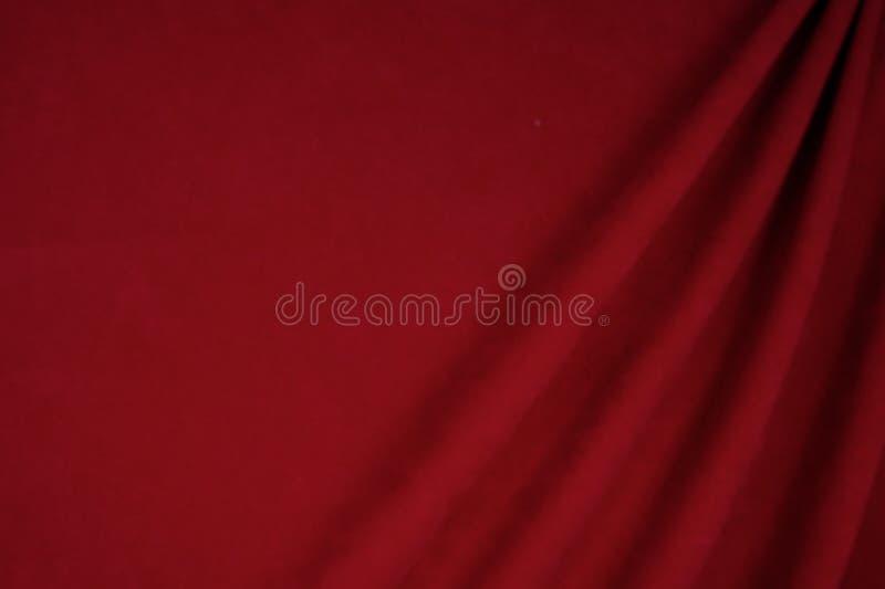 Zmrok - czerwony aksamitny tkaniny use dla tła zdjęcie royalty free