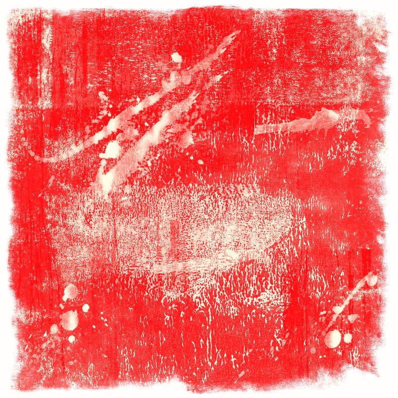 Zmrok - czerwony grunge tło ilustracji