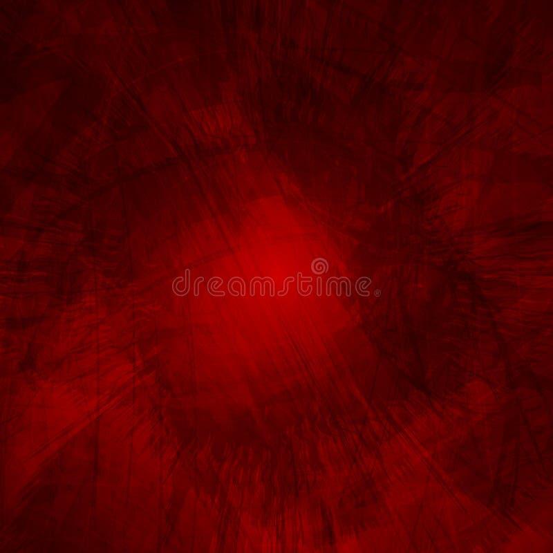 Zmrok - czerwony grunge wektoru tło ilustracji