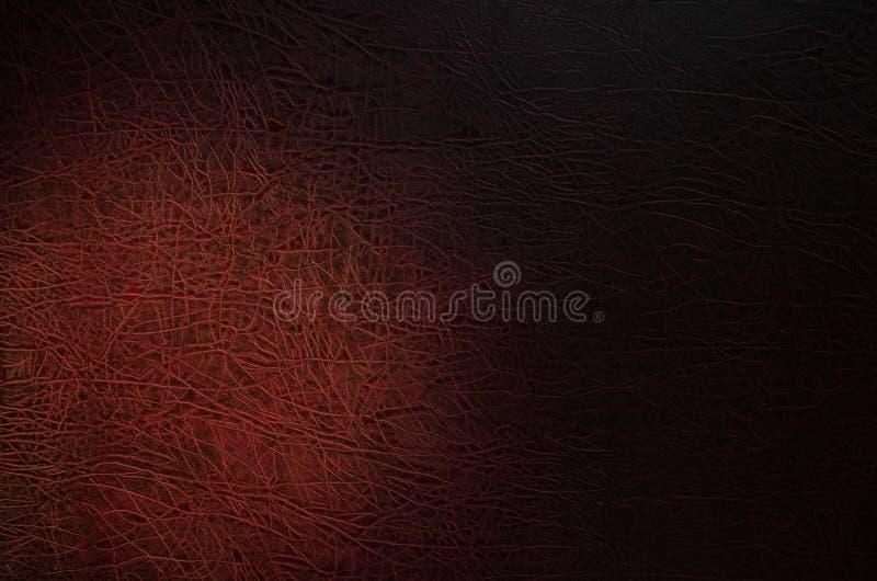 Zmrok - czerwony tło z ogłoszoną teksturą zdjęcie royalty free