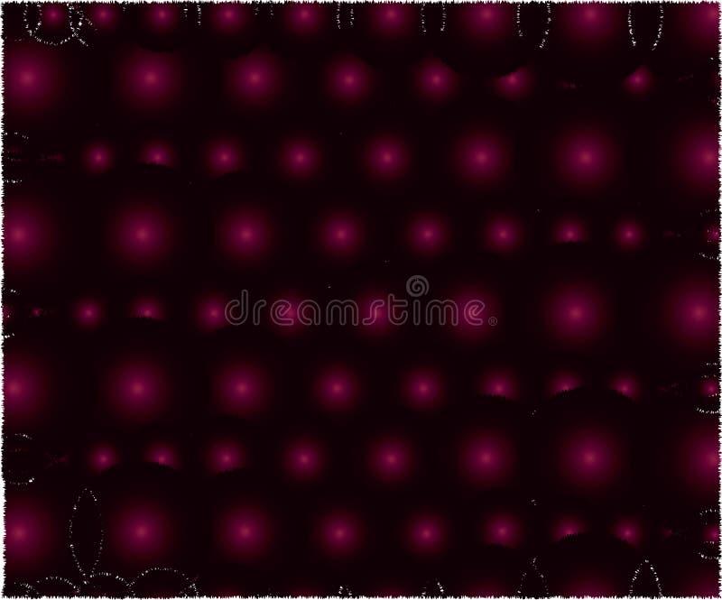 Zmrok menchii kolory piłki ilustracja wektor