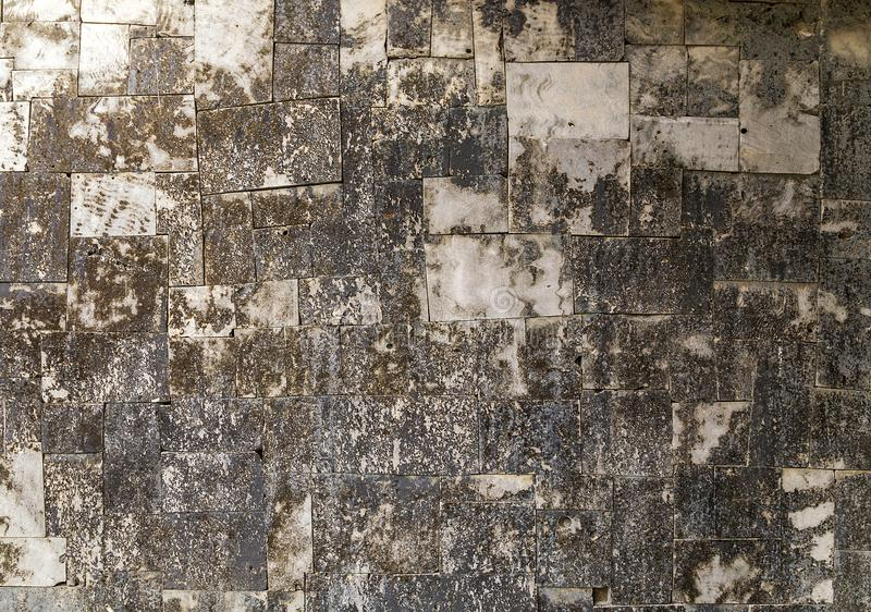 Zmrok popielata naturalna kamienna tekstura fotografia royalty free