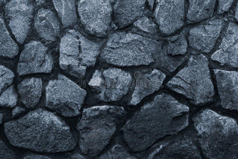 Zmrok - szara kamienna ściana, wielki projekt dla żadny zamierza Siwieje ścienną tła grunge teksturę Zmrok - szarości kamienny tł obraz stock