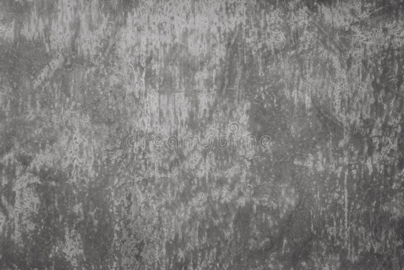 Zmrok tekstury cementowy tło Okrzesana betonowa podłoga Abstrakcjonistyczna szarości powierzchnia Kamienny lub rockowy materiał fotografia royalty free
