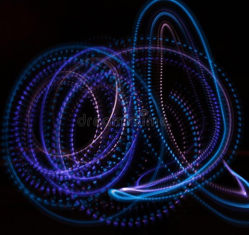 zmrok zaświeca neon zdjęcie stock