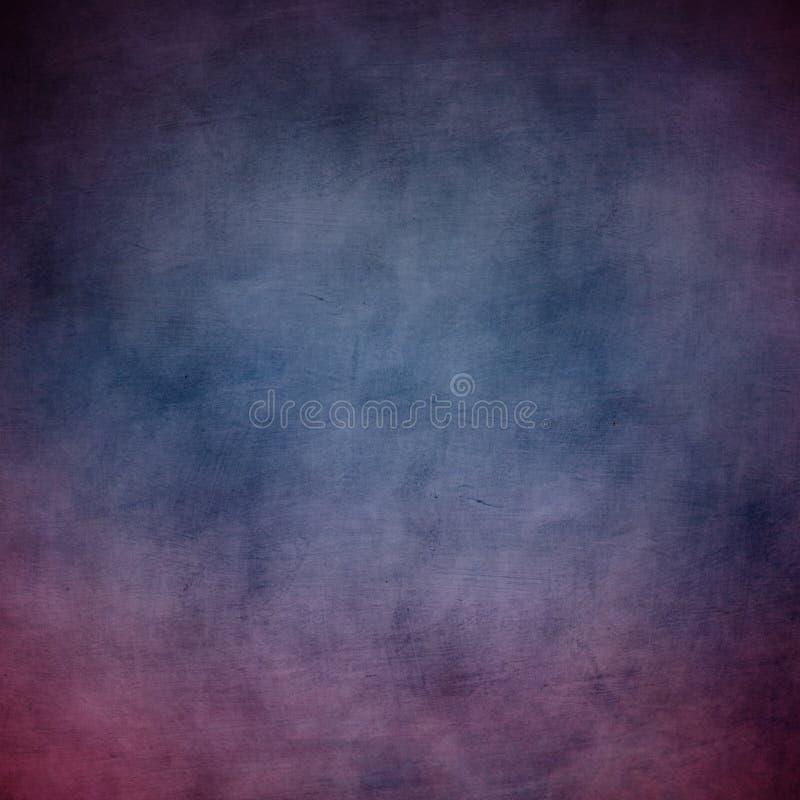 Zmroku - błękitny i purpurowy tekstury tło royalty ilustracja