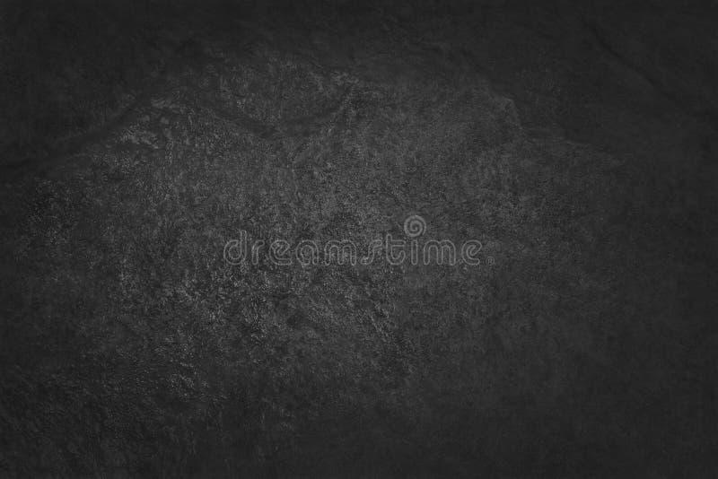 Zmroku czerni łupku popielata tekstura w naturalnym wzorze czarna kamienna ściana obrazy royalty free