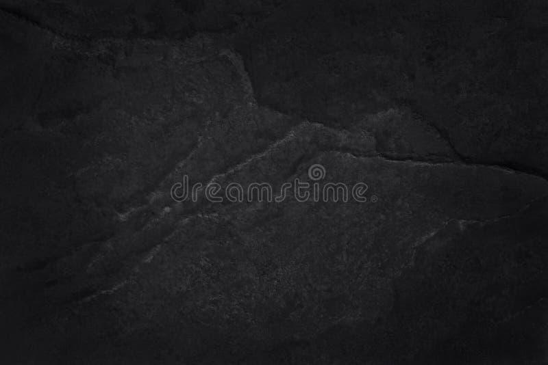 Zmroku czerni łupku popielata tekstura w naturalnym wzorze z wysoka rozdzielczość dla tła i projekta sztuki pracy czarna kamienna obrazy stock