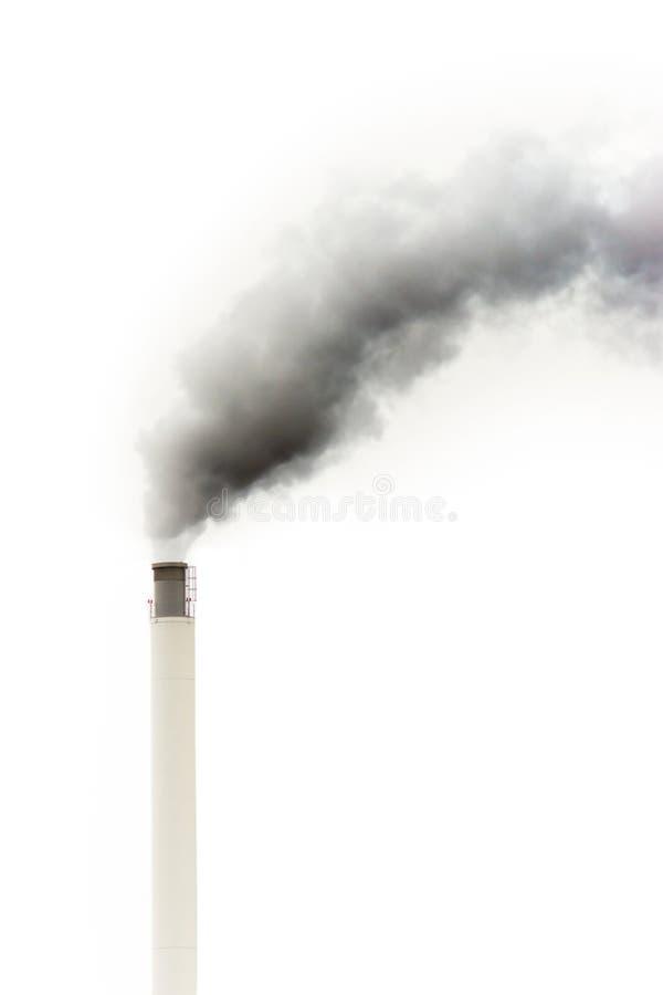 zmroku kominowy dym zdjęcie royalty free