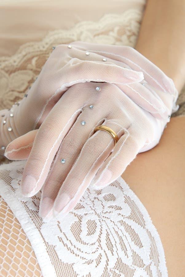 zmysłowość ślubnych obrazy stock