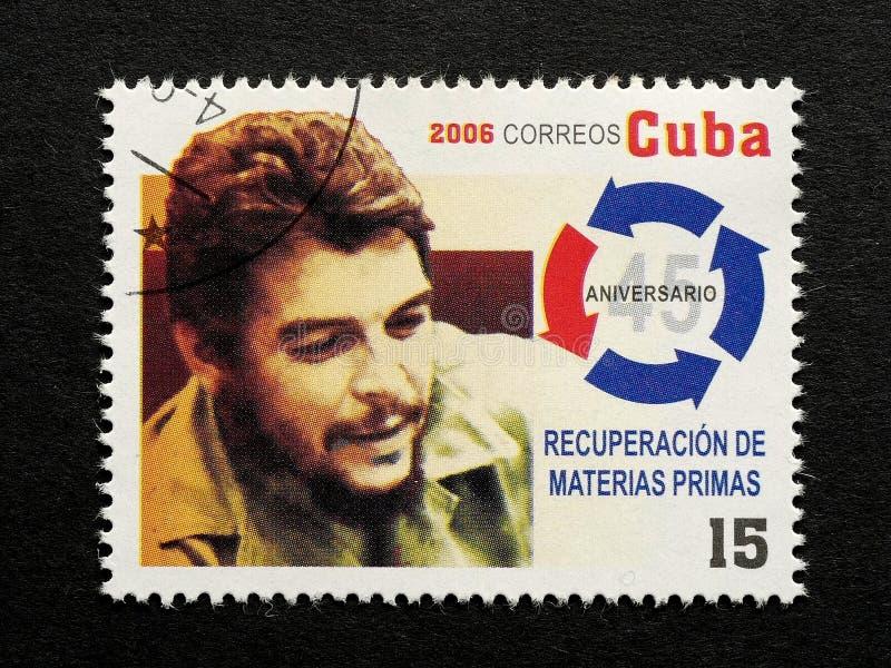Znaczek Che Guevara zdjęcia royalty free