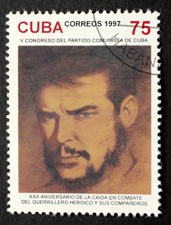 Znaczek Che Guevara obrazy royalty free