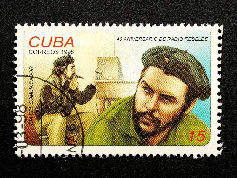 Znaczek Che Guevara zdjęcia stock