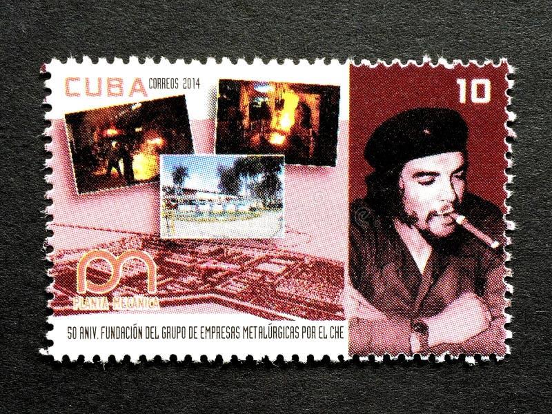 Znaczek Che Guevara zdjęcie royalty free