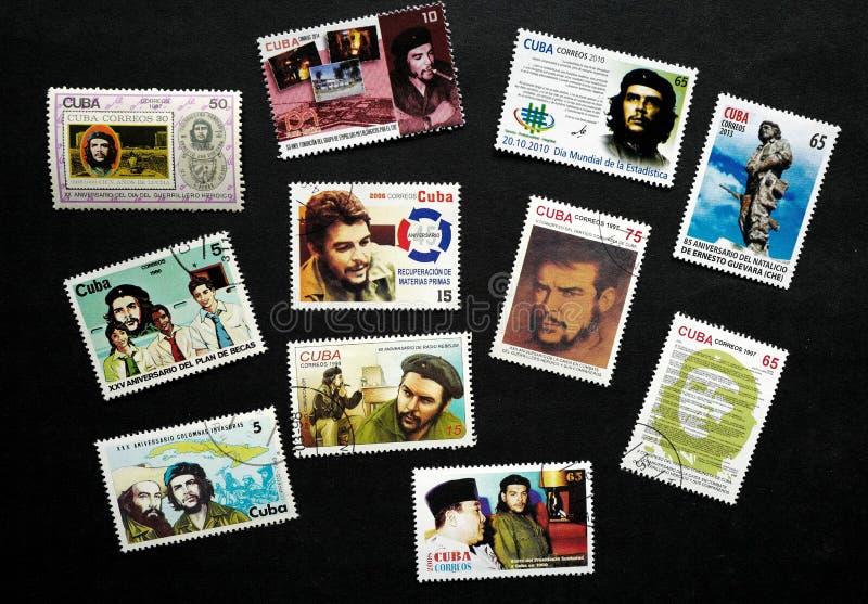Znaczek Che Guevara zdjęcie stock