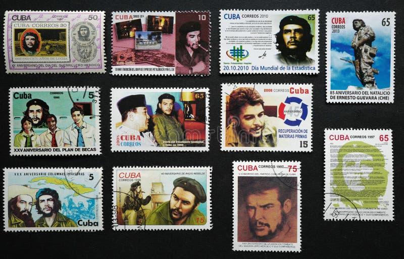 Znaczek Che Guevara obraz royalty free
