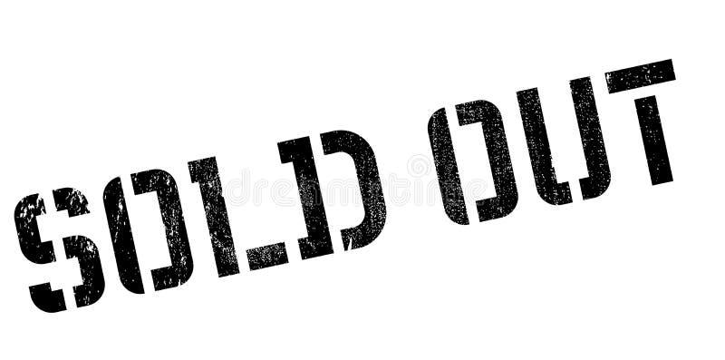 znaczek guma sprzedający znaczek ilustracja wektor