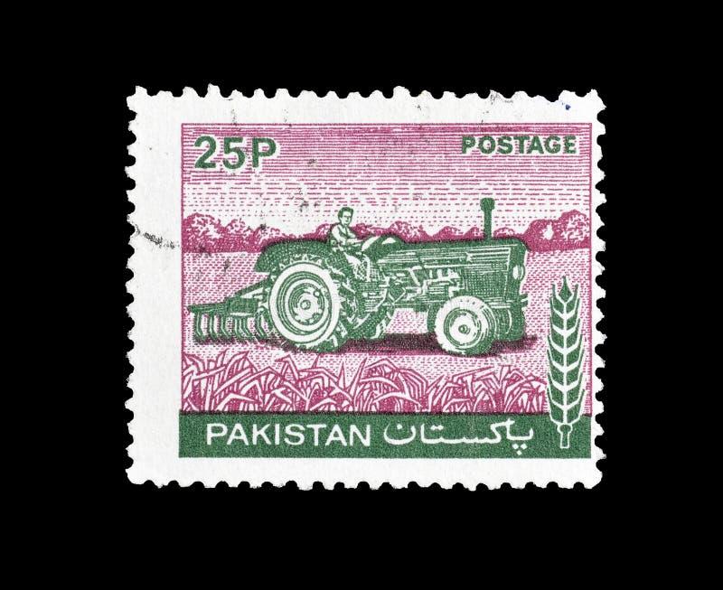 Znaczek pocztowy drukujący Pakistan fotografia royalty free