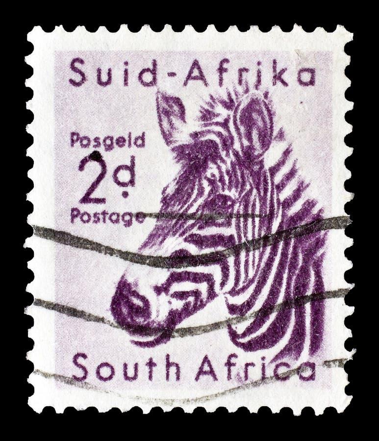 Znaczek pocztowy drukujący Południowa Afryka obrazy stock