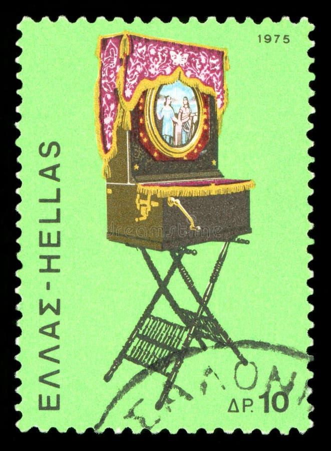 Znaczek pocztowy - Grecja fotografia stock