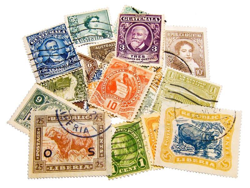 znaczki ilustracja wektor