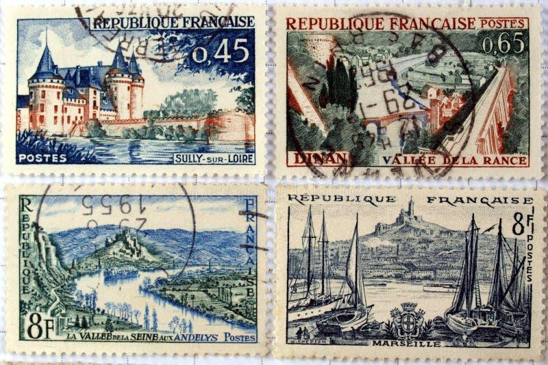 znaczki obrazy royalty free