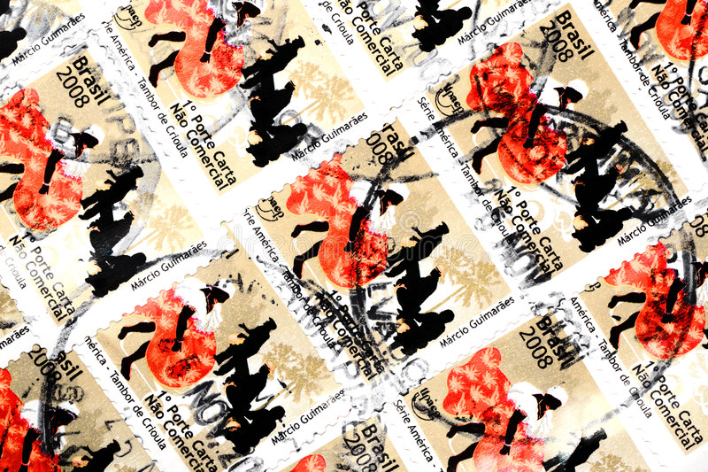 znaczki fotografia royalty free