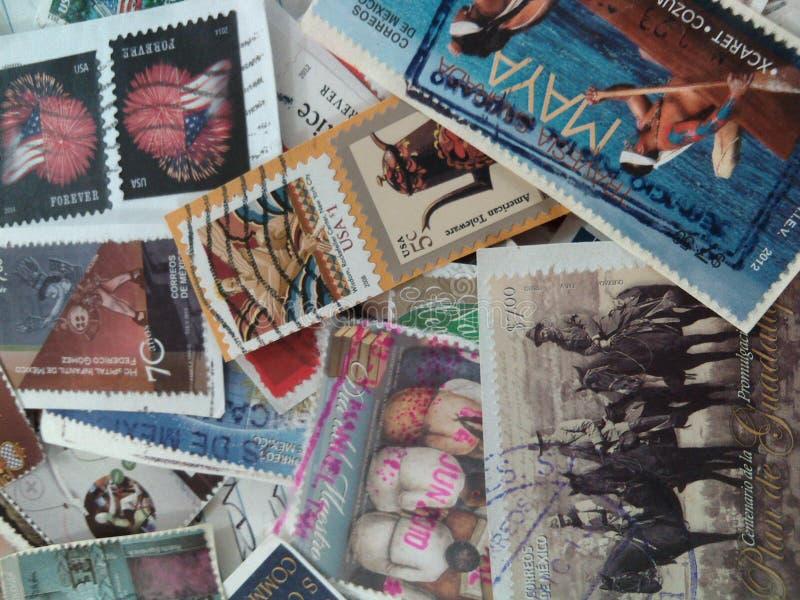 znaczki zdjęcie stock