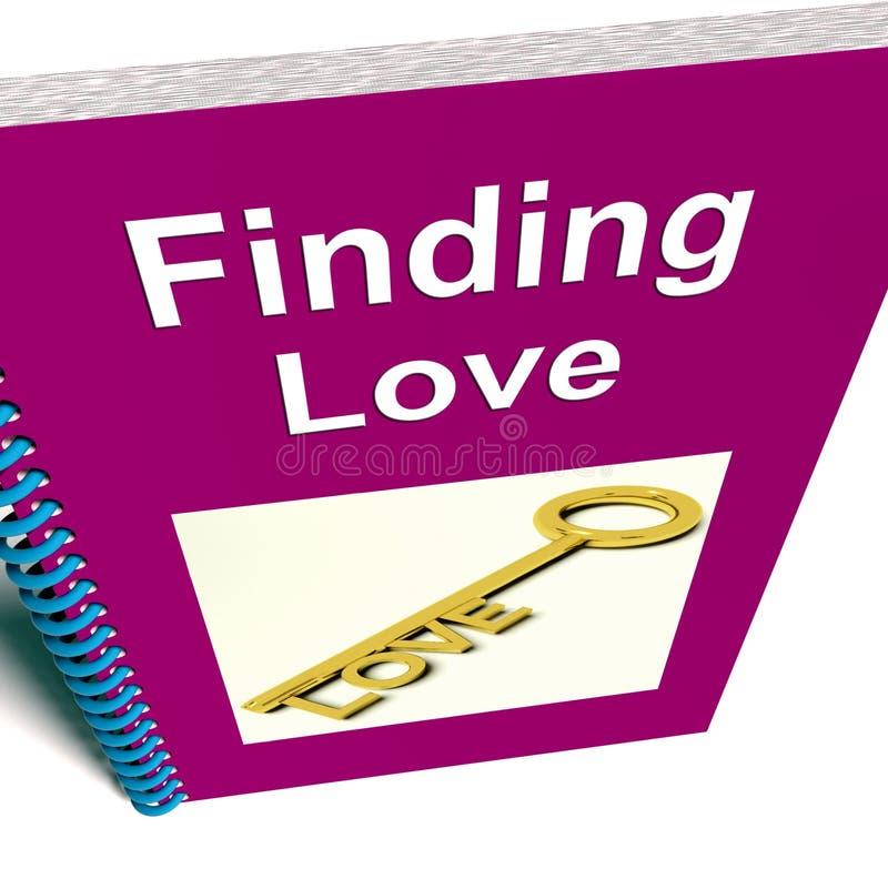 Znajdować miłości książkę Pokazuje związek rada ilustracji