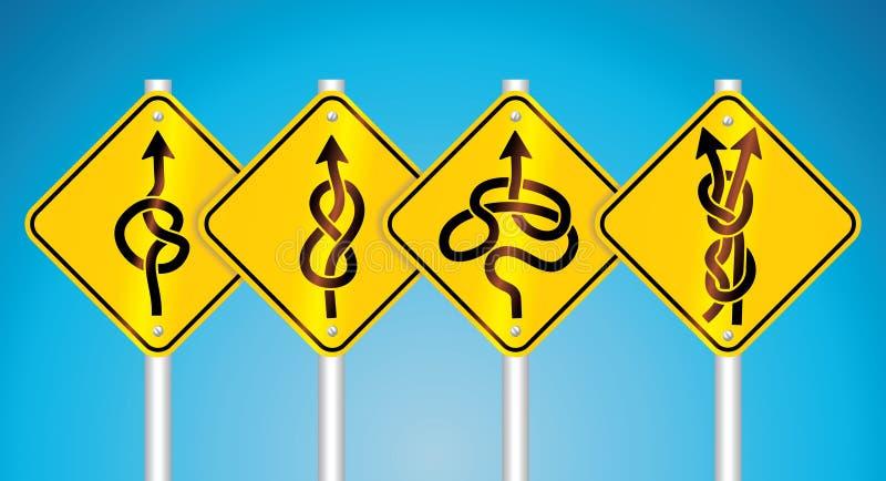 znaków ruch drogowy ostrzeżenie ilustracji