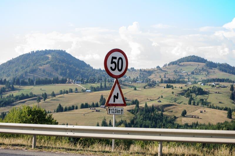 50 znak zdjęcia stock
