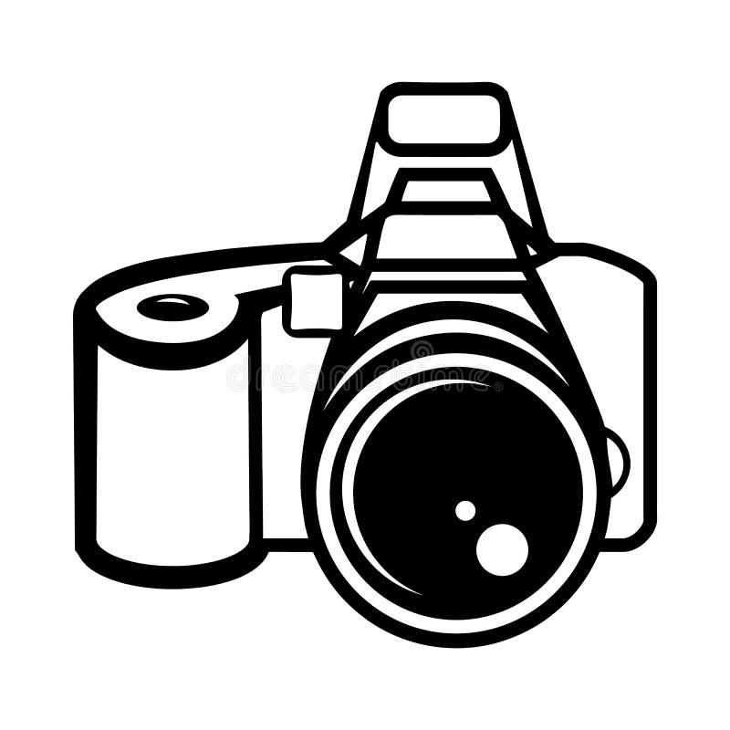 Znak kamera ilustracji