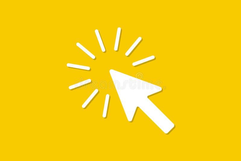 Znak kursor komputerowa mysz ilustracja wektor