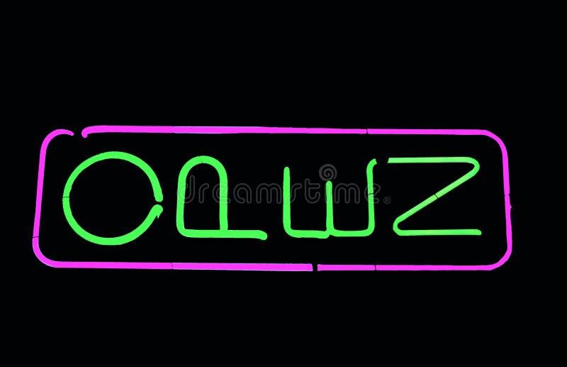 znak neon obrazy royalty free