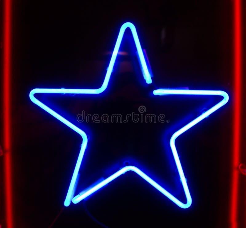znak neon fotografia royalty free