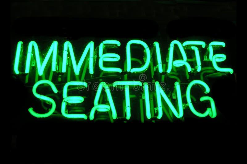 znak neon zdjęcia stock