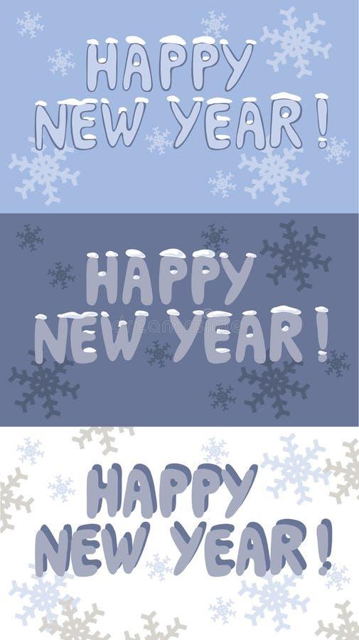 znak nowego roku royalty ilustracja