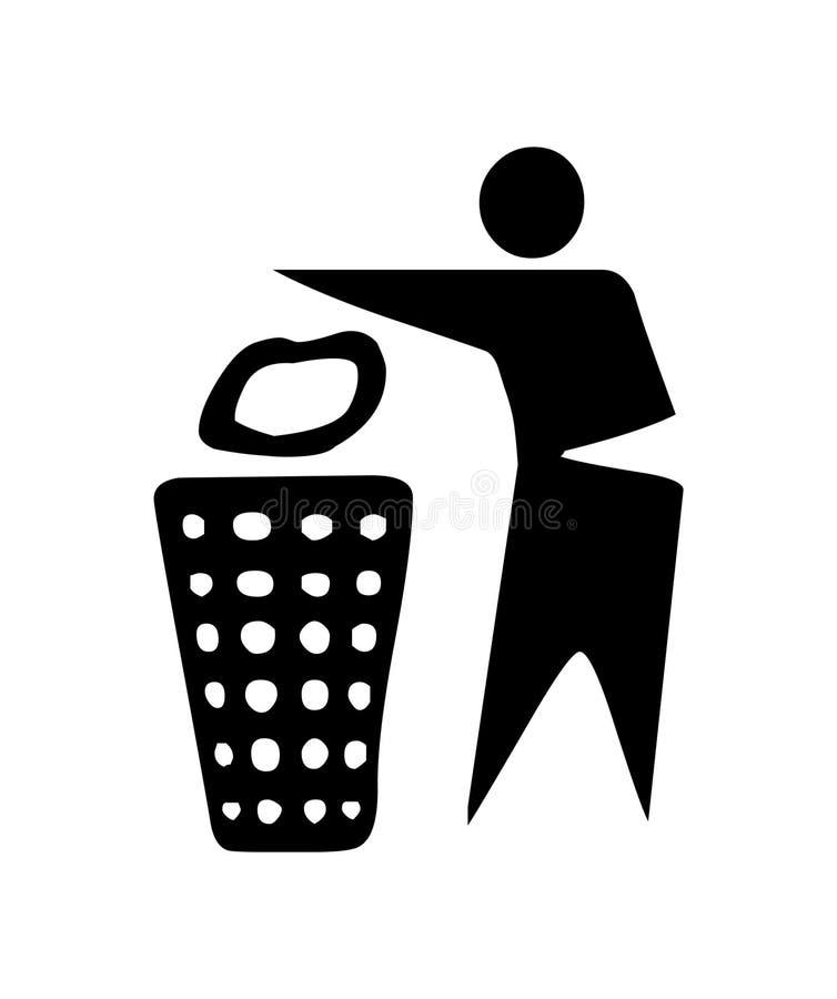 znak recyklingu ilustracji