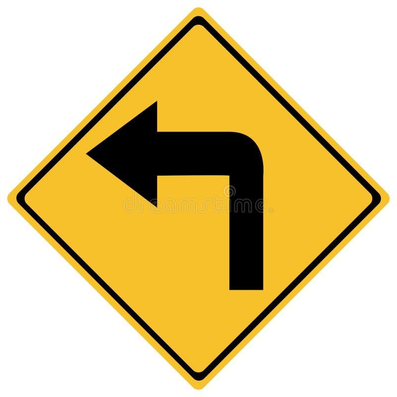 znak ruchu royalty ilustracja