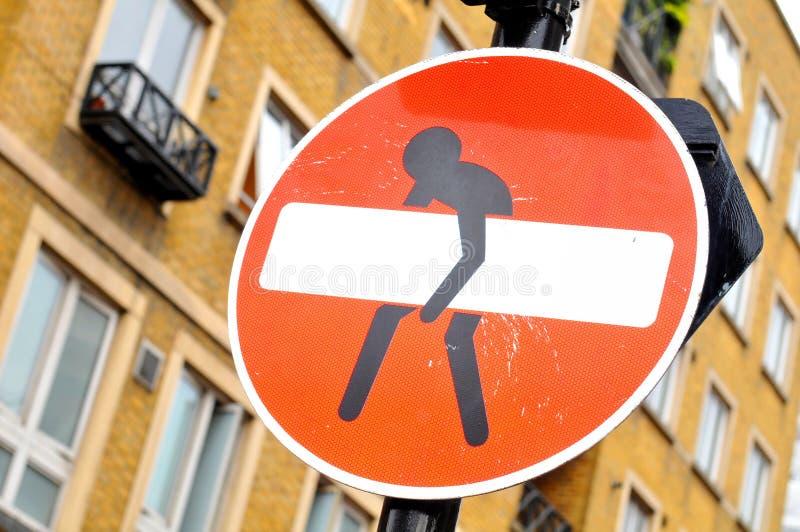 Znak uliczny obrazy royalty free