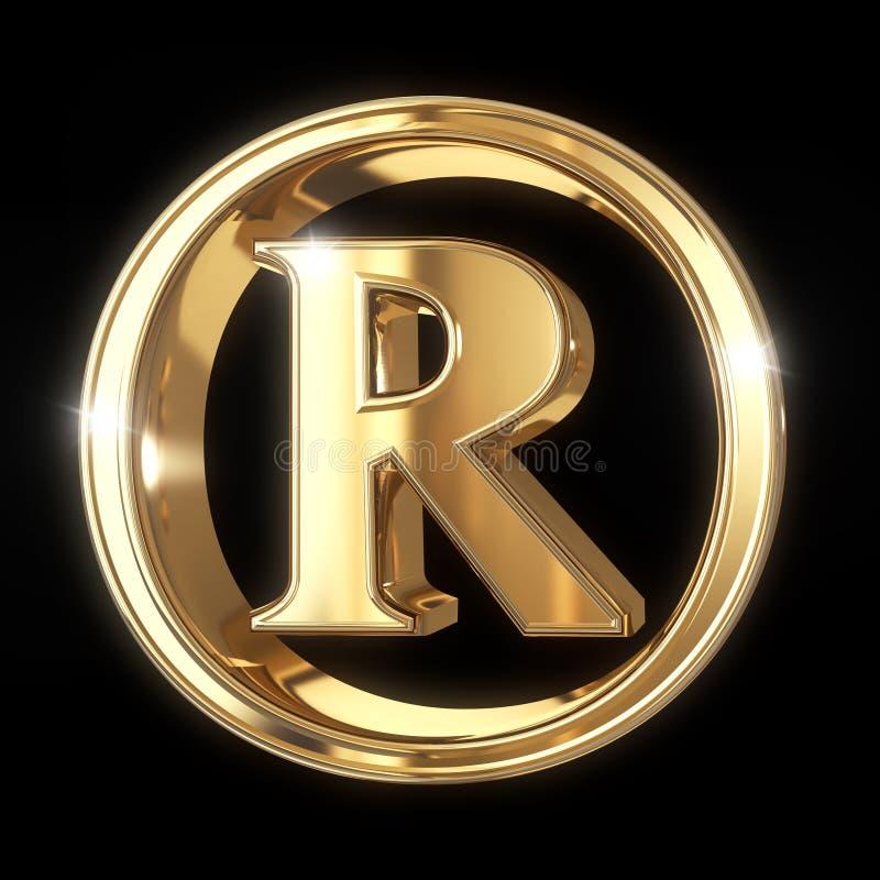 Znaka firmowego symbol z ścinek ścieżką ilustracji