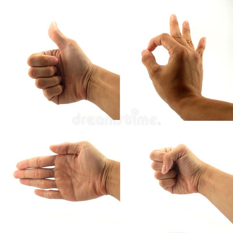 Download Znaka i sygnału ręka zdjęcie stock. Obraz złożonej z dobry - 57657900