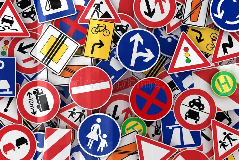 znaka ruch drogowy