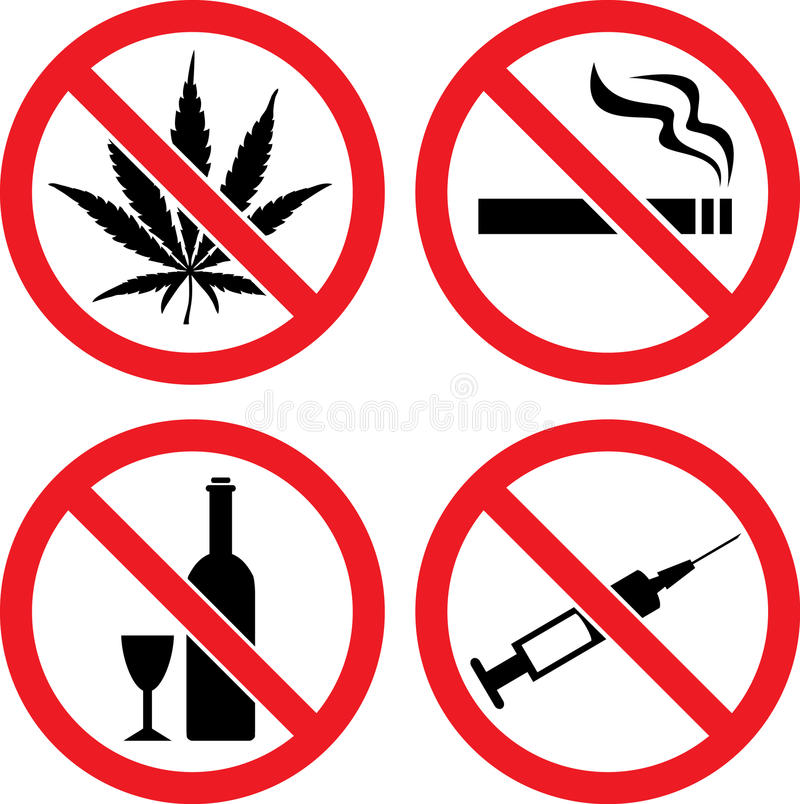 znaka zabraniając wektor ilustracja wektor