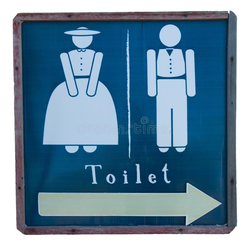 Znaki łazienka zdjęcie royalty free
