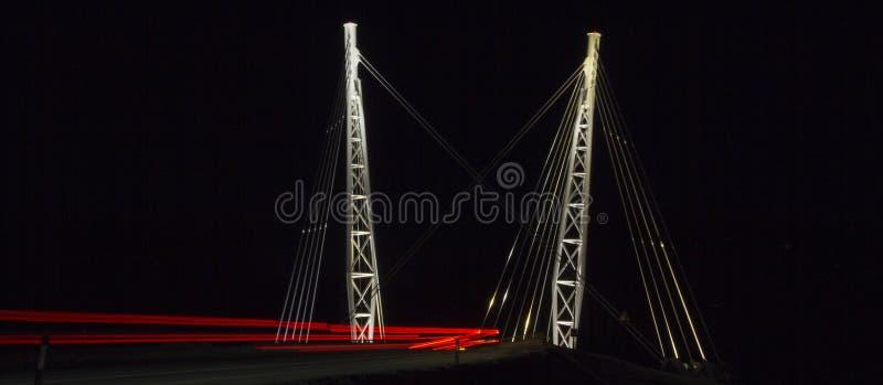 znaki świetlne most zdjęcie royalty free