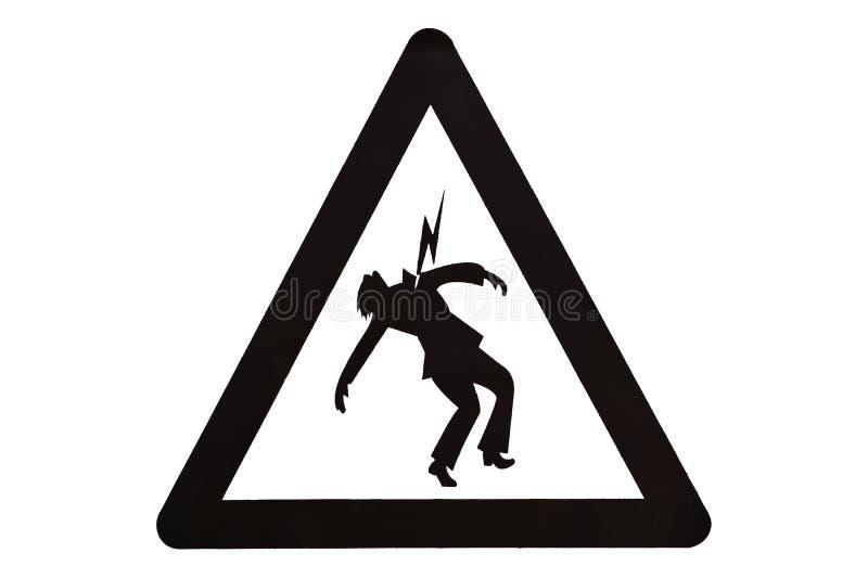 Znaki ostrzegawczy royalty ilustracja