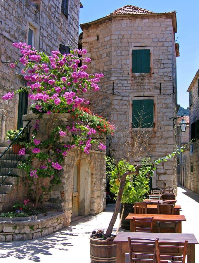 znakomita Croatia caf zdjęcia royalty free