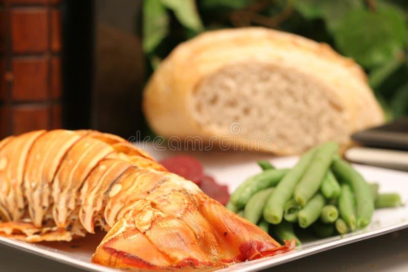 znakomita kolacja homar obrazy stock